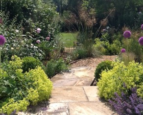 Farley Garden in Summer