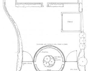 Front Garden Outline Plan